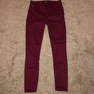 Hudson Midrise Nico Super Skinny Jeans 24